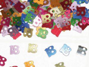 18-års färgglad konfetti - Dekorationer.