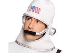 Astronaut hjälm i tyg - Maskerad.