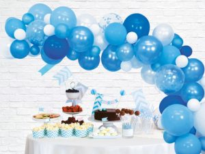 Ballongbåge kit blå - Temafest & Högtider.