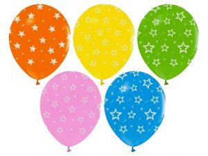 Ballonger med stjärnmönster - Ballonger.