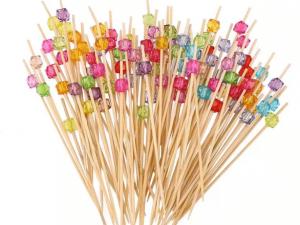 Cocktailpinnar färgglada pärlor - Dukning.