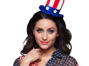 Diadem USA-hatt - Maskerad.