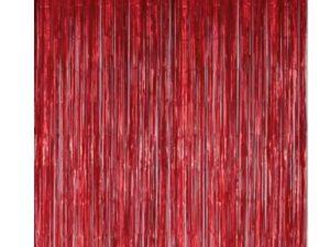 Dörrdraperi röd - Dekorationer.