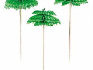 Drinkpinnar palm - Dukning.