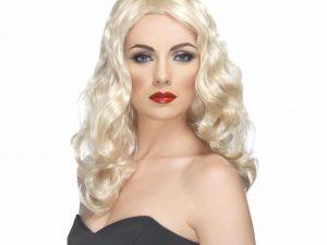 Glamour peruk - Maskerad.