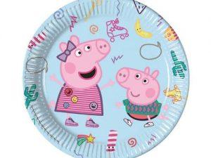 Greta gris tallrikar - Dukning.
