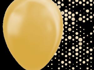 Guld ballonger 5-pack - Barnkalas.