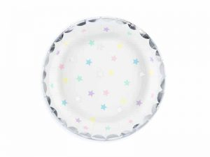 Pastellstjärnor assietter - Dukning.