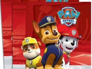 Paw Patrol servetter - Dukning.
