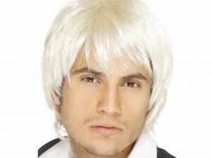 Peruk 60-tal boy band blond - Maskerad.