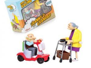 Racing granny & grandad - Roliga Prylar.