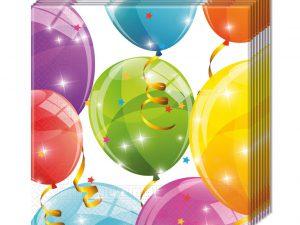 Servetter ballonger - Ballonger kalas.