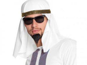 Shejk hatt - Maskerad.