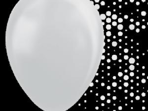 Silver ballonger 5-pack - Barnkalas.