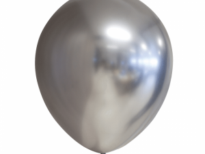 Silver kromballong 5-pack - Barnkalas.