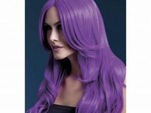Stylingbar peruk lila - Maskerad.