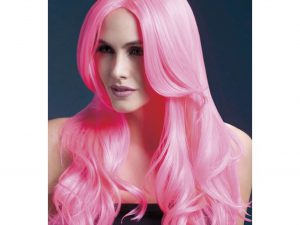 Stylingbar peruk rosa - Maskerad.
