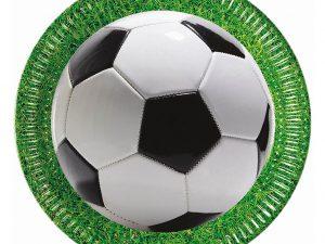 Tallrikar Fotboll - Dukning.