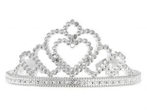 Tiara silver - Maskerad.