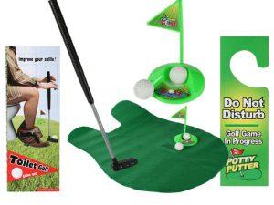 Toalett Golf - Roliga Prylar.