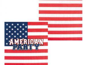 USA-servetter - Dukning.