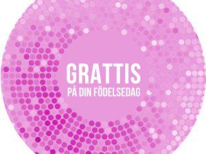 rosa grattis - Tårtbilder till din tårta.