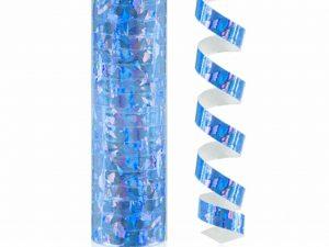 serpentin holografisk blå - Dukning.